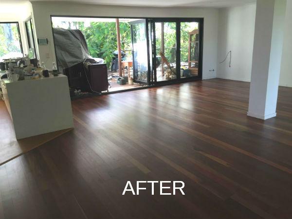 Wooden Floor Polishing after