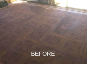 Parquetry Floors before