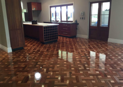 Parquetry with Hardwax oil finish