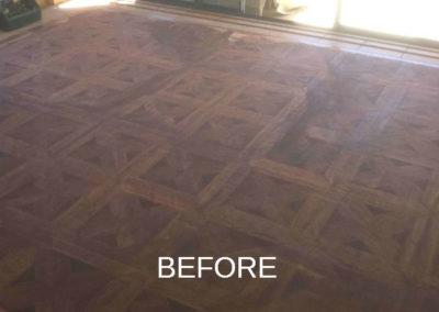 Parquetry Floors before
