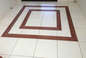 Timber inlay